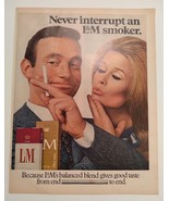 1968 L&M Cigarette Advertisement - $18.00