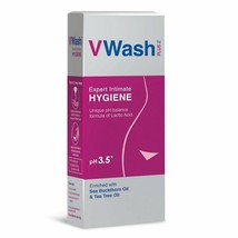 VWash Plus Intimate Hygiene Wash - 200 ml -helps prevent itchiness, irri... - $16.44