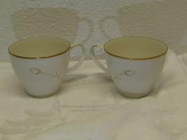 """Noritake Ivory China Nora Flat Cup 2 3/4"""" 7546 Japan Replacement set of 2 - $7.91"""