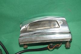 Mercedes W108 W109 W111 250 280 300 S SE Chrome Rear License Tag Plate Lights image 3