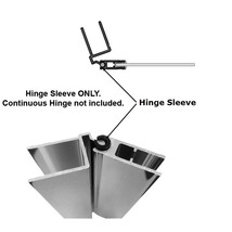 Hinge sleeve shower door hinges 2 thumb200