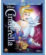 Disney Cinderella (Two-Disc Diamond Edition Blu-ray/DVD) - $14.96