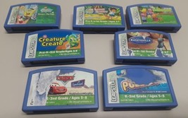Leap Frog Leapster Games Cartridges Lot of 7 - $9.89