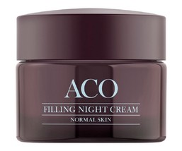 ACO Face Filling Anti Age 40+ Night Cream Normal Skin 50 ml / 1.7 Oz - $38.40