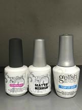 Gelish Gel Polish Combo Top + Base + Matte Top - $13.85+