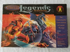 Stratego Legends The Shattered Lands Avalon Hill Board Game Complete Vintage - $28.04