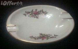 ROSENTHAL MOSSROSE OVAL ASHTRAY (#2984-10) - $10.95