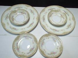 6 Noritake Bellodgia Dinnerware Plates ~~ fill ins ~ 2 dinner, berry, sa... - $14.95