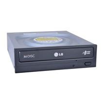 Hitachi/LG GH24NSC0 24x DVDRW DL SATA Drive w/M-DISC Support (Black) - $32.21