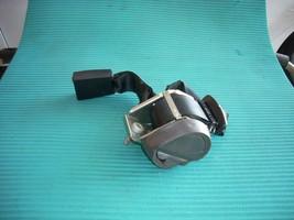 2011 2012 2013 FORD FIESTA SEDAN CENTER BLACK SEAT BELT ASSEMBLY GENUINE OEM