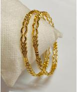 AARTISAI Gold Plated Artificial Cuff Bangles and Bracelet for Women and ... - $34.20+