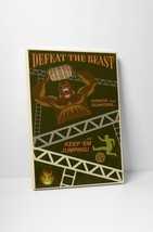 """Defeat The Beast by Steve Thomas Gallery Wrapped Canvas 16""""x20"""" - $44.50"""