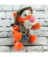 Vintage Walt Disney World Animal Kingdom Tigger Plush Safari Outfit Bino... - $19.79