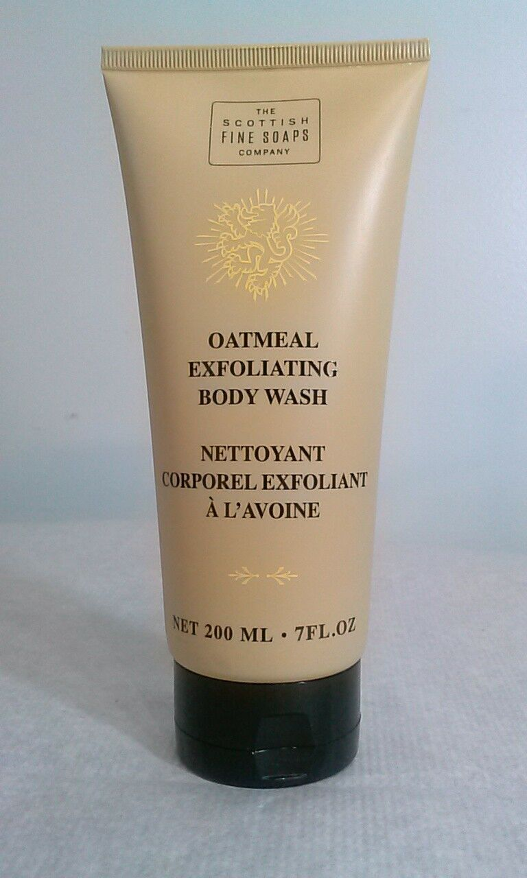 The Scottish Fine Soaps Company Exfoliating Body Wash Shower Oatmeal YOU CHOOSE image 4