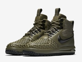 NIKE LUNAR FORCE 1 DUCK BOOT MEN'S US SIZE 11.5 STYLE # 916682-202 - £131.73 GBP