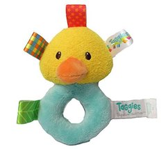 "Taggies Barnyard Rattle 5"" - Duck - $11.99"