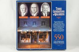 Three Generations of Walgreens 550 Piece Jigsaw Puzzle SEALED BOX -1993 - $12.13