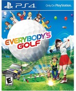 New! Everybody's Golf PlayStation 4 PS4 Free Shipping Multiplayer Sports - $45.53