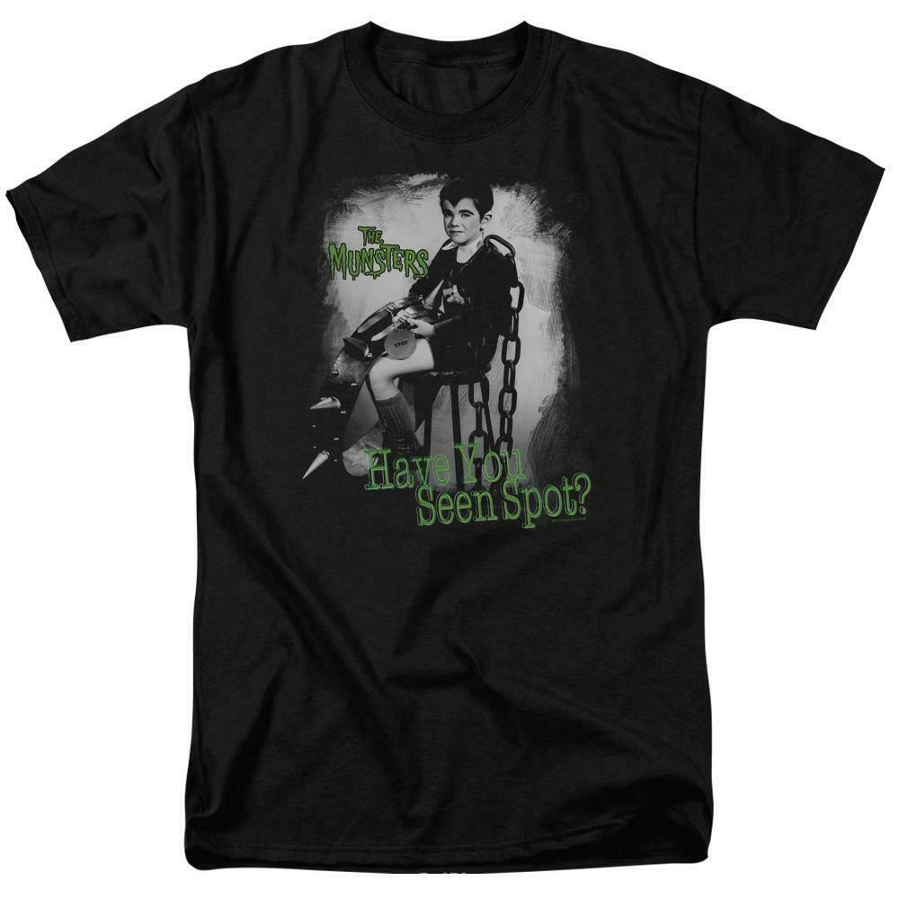Eddie Munster t-shirt Have you seen Spot? retro 60's graphic tee NBC412