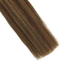 Hetto Tape in Human Hair Extensions 22 inches Seamless Glue in Hair Extensions 2 image 6