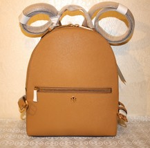 Tory Burch Authentic Emerson Cardamom (Tan) Saffiano Leather Backpack - $247.49