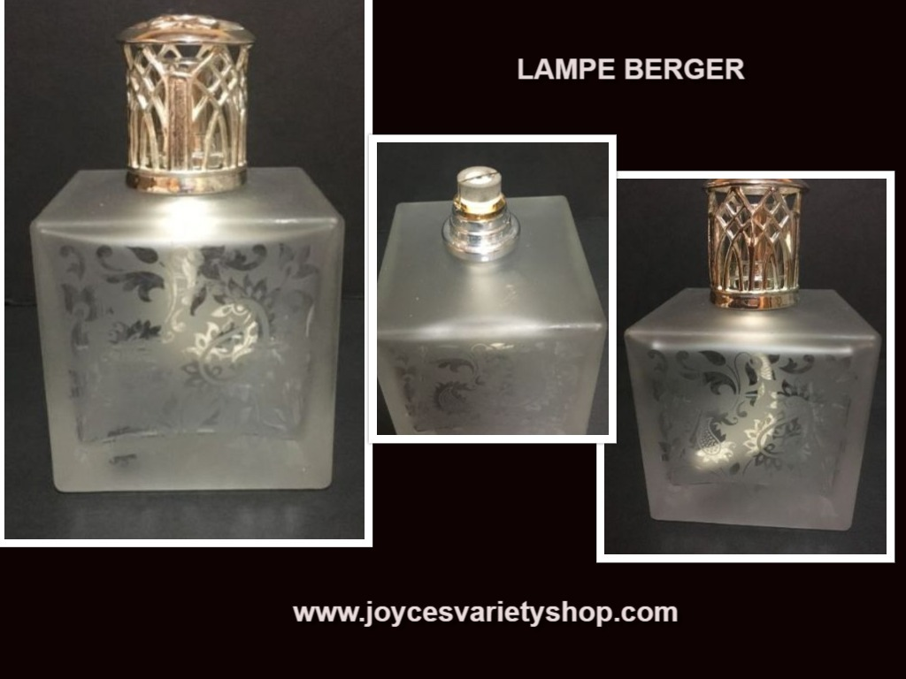 Lampe berger clear web collage