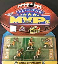 Green Bay Packers 1997 All-Star MVP's NFL Poseable Action Figures - $14.20