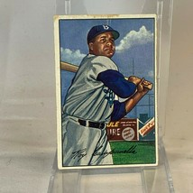 1952 DODGERS ROY CAMPANELLA BOWMAN BASEBALL CARD No. 44 - $39.47