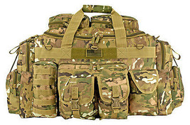 EastWest Tank Tactical Duffle Bag Operator Deploy Shooter Gear Bag MULTI... - $56.75