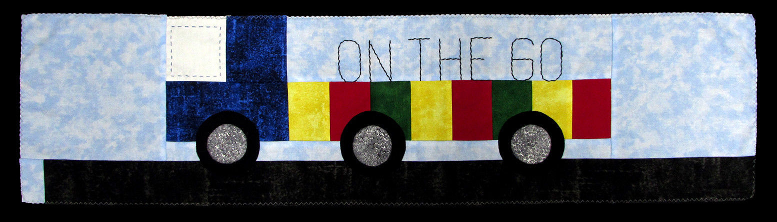 "Row by Row 2017 ""On the Go"" Semi Truck Quilt Kit - Sold by the Kit M401.06 (W) - $12.97"