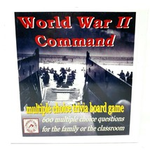 World War II Command  Board Game By Tomahawk Games 600 Multiple Choice A... - $39.99