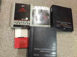 1995 FORD CARGO TRUCK VAN Service Shop Repair Manual Set W EVERYTHING PC... - $187.27