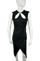 Mugler Women's Layered Cut Out Sheath Dress Black 38 US 6/M $3750 [2354-1] - $231.40