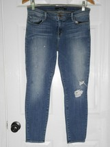$228 J Brand - 835 Mid Rise Capri in Pulse Destroyed Wash Size 29 - $89.99