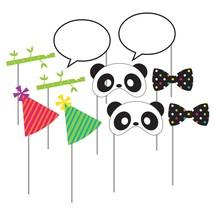 "Panda-monium Photo Booth Props w/10"" Stick, Case of 60 - $45.95"