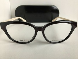 New FENDI FF44/FMGX 53mm Rx Women's Eyeglasses Frames Italy  - $149.99