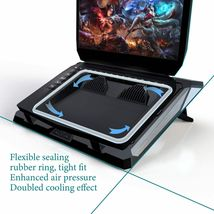 IETS GT300 Double Blower Laptop Cooling Pad for 14-17 Inch Gaming Laptop, Cooler image 6
