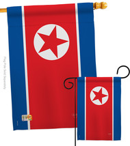 North Korea - Impressions Decorative Flags Set S108328-BO - $57.97