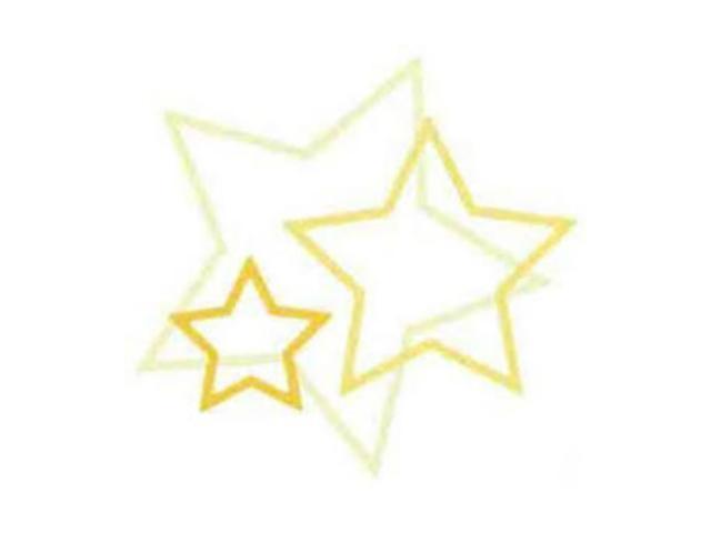 QuicKutz Cookie Cutter Nesting Stars Dies, Set of 3, #CC-SHAPE-3-021