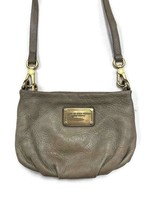 Marc by Marc Jacobs Crossbody Classic Q Percy Leather Handbag Purse Taupe - $73.59