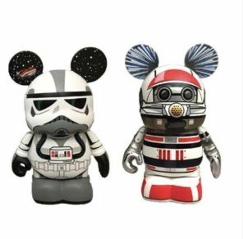 D23 Expo 2017 Star Wars Vinylmation Eachez Star Tours 30th Anniversary Unopened - $21.51