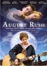 August Rush DVD Freddie Highmore Keri Russell Jonathan Rhys Meyers - $2.99