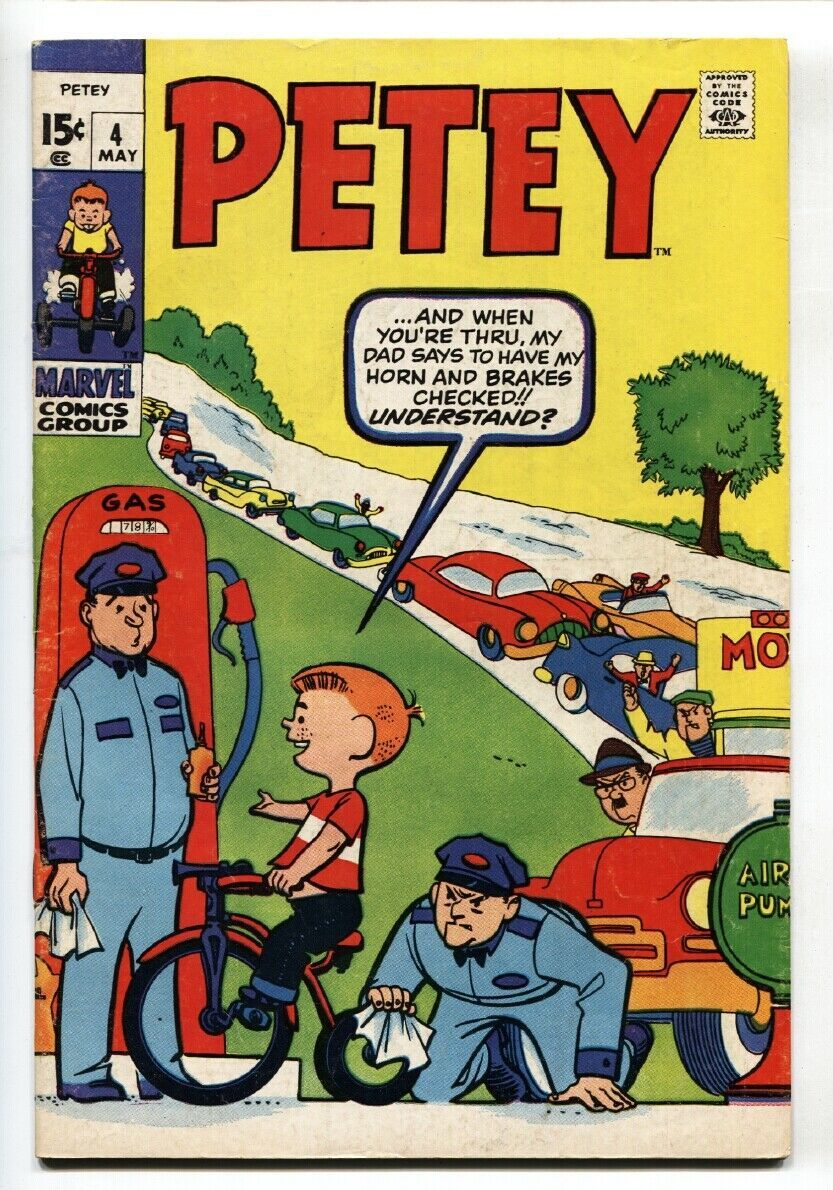 PETEY-PETER THE LITTLE PEST-#4 Marvel comic book  1970