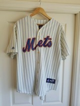 MLB Majestic New York NY Mets # 44 Jason Bay Stitched Jersey USA Made Si... - $34.64