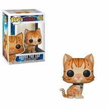 Funko Pop! Marvel: Captain Marvel - Goose The Cat Figure Flocked SAME-DA... - $16.82