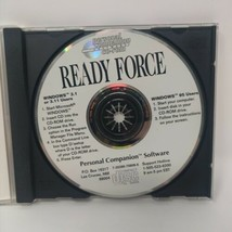 Ready Force (Windows CD-Rom) Personal Companion Software Windows 95 - $9.49