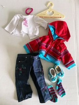 Retired American Girl Doll Today 2004 Ready for Fun Jeans Jacket Meet Outfit Euc - $38.69