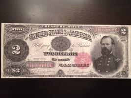 Reproduction Copy $2 Bill Treasury Note 1891 Gen. James McPherson (Civil War) - $2.96