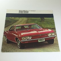 Corvair for 1967 by Chevrolet 2-4 Door Sedan Convertible Car Catalog Brochure - $14.96
