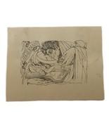 Ismael Smith Ex Libris Exlibris Bookplate Book Plate Erotic Nude JB Alemany - $79.19